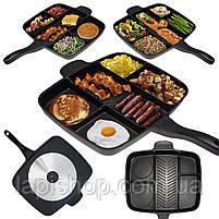 Сковорода универсальная Magic Pan на 5 отделений, фото 8