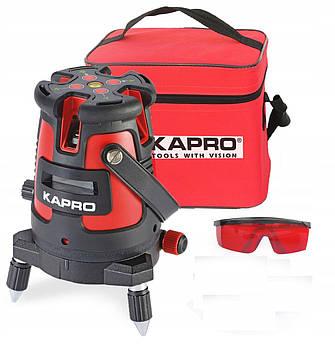 Лазерный уровень нивелир Kapro 5 линий + штатив гарантия 12 месяцев