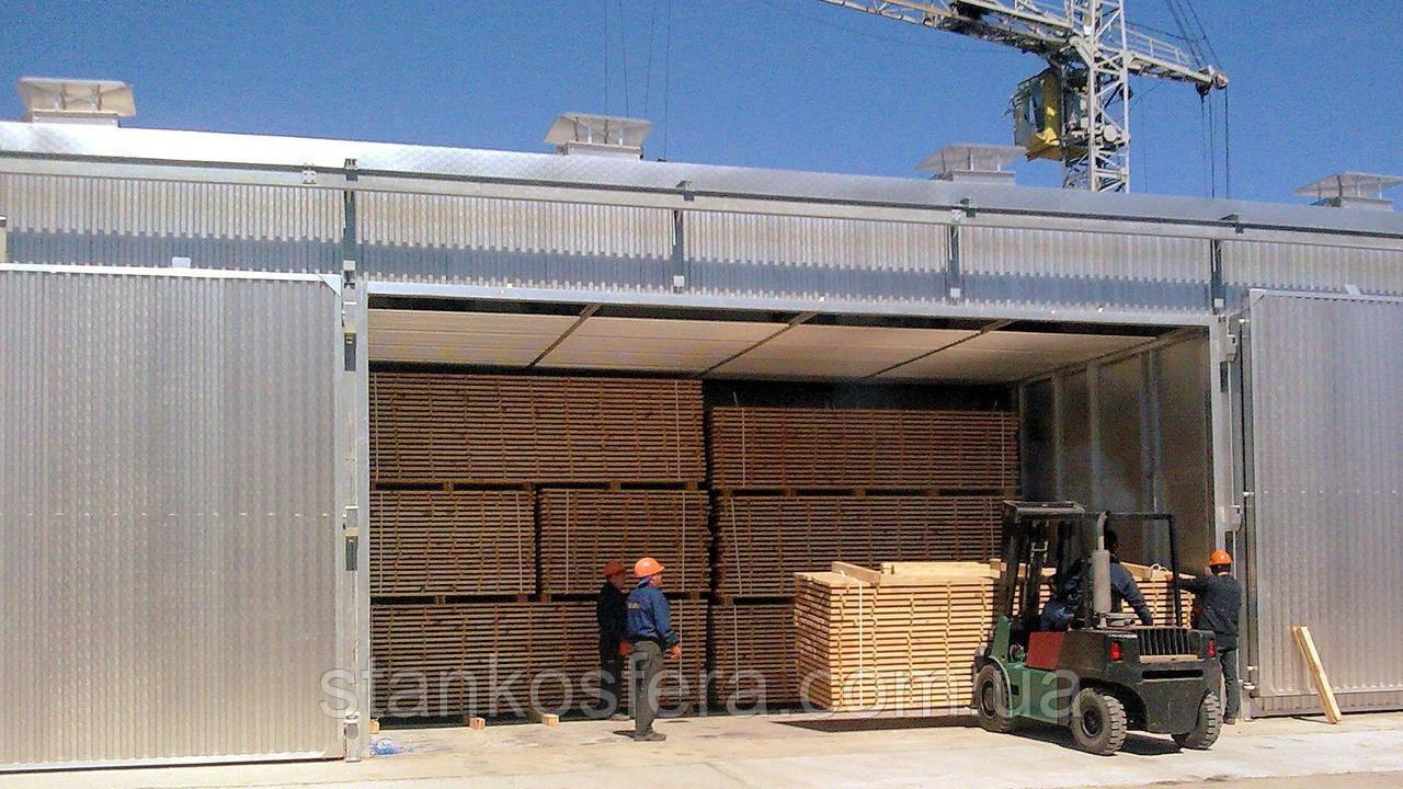 Сушильные камеры для древесины конвекционные новые (Италия)