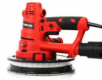 Шлифовальная машина для стен MAR-POL со светодиодной подсветкой