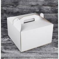 Коробка для торта 30*30*40см (БУРАЯ)