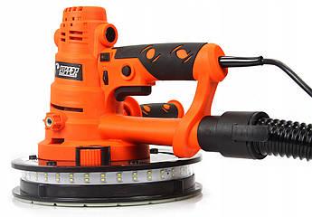 Шлифовальная машина для стен RIPPER с подсветкой гарантия 12 месяцев
