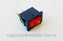 Кнопка сетевая Daier 40308 (12*19), 3 контакта со светодиодом код товара: 7485