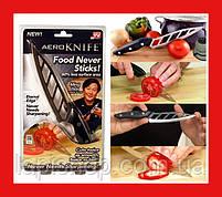 Кухонный нож Аero Knife Нож для нарезки с зубчиками аэродинамический, фото 2