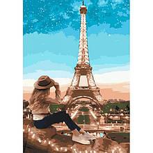 Картина по номерам. «Путешественница» (КНО2693)