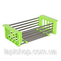 Многофункциональная складная кухонная сушилка Kitchen Drain Shelf Rack, фото 6