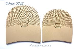 Набойка Vibram 5342 ARIEL TACCO р. 30, толщ. 7 мм, цв. бежевый, фото 2