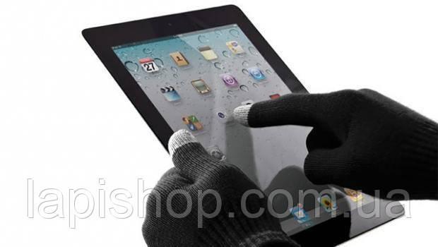 Перчатки iGlove для сенсорных экранов Black