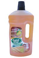 Gold Drop жидкость для мытья напольных панелей 1л с апельсиновым маслом