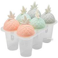 """Форма для мороженого STENSON """"Ананас"""" 6 шт 13 см (C39822)"""