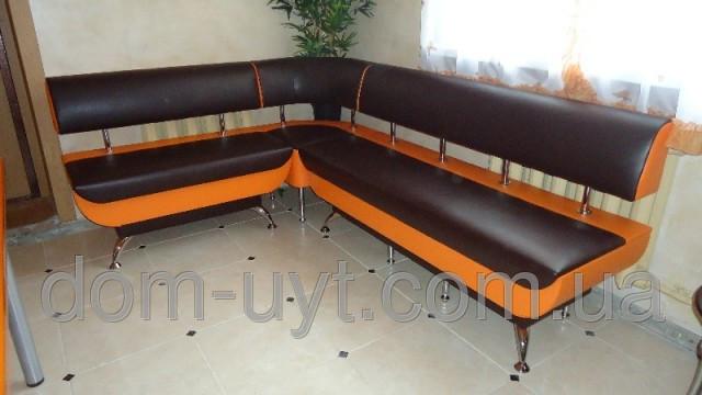 Угловой мягкий диванчик для рецепции, офиса, приемной Днепр.