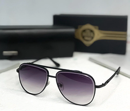 Мужские солнцезащитные очки авиаторы Dita (1002) grey