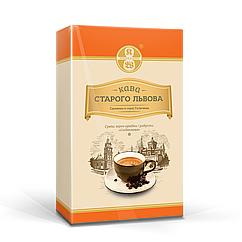 Кава мелена Кава Старого Львова Сніданкова 250 грам у вакуумній упаковці