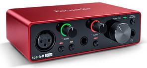 USB аудиоинтерфейс Focusrite Scarlett Solo 3rd Gen