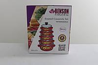 Набор посуды эмалированной (5 кастрюль) BENSON BN-079