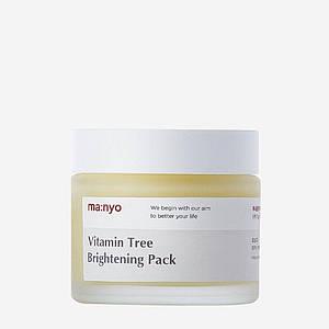 Ночная осветляющая маска с облепихой MANYO FACTORY Vitamin Tree Brightening Pack, 75 мл