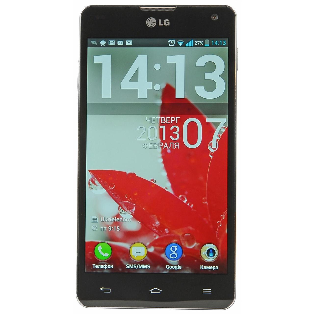LG Optimus G E975 Black 2/32 Grade C Б/У