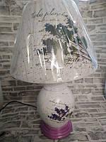 Торшер настольная лампа с  абажуром светильник 38 см