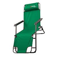 Крісло-шезлонг двопозиційне 156х60х82 см, Camping // Palisad