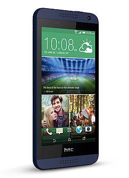 HTC Desire 610 blue 1/8 Grade С Б/У