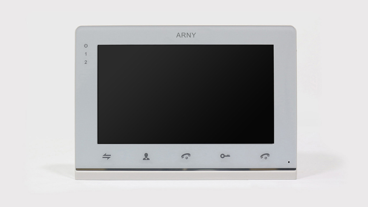 Видеодомофон ARNY AVD-710 2MPX (white)