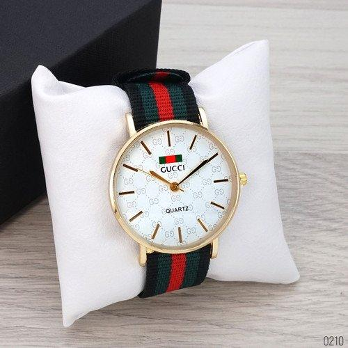 Gucci Gold-White Green-Red