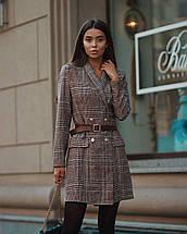 Женское платье-пиджак с длинными рукавами / XS-L, разные цвета, AL-Пл-пиджак, фото 2