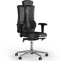 Кресло KULIK SYSTEM ELEGANCE Антара с подголовником без строчки Черный (10-901-BS-MC-0301)