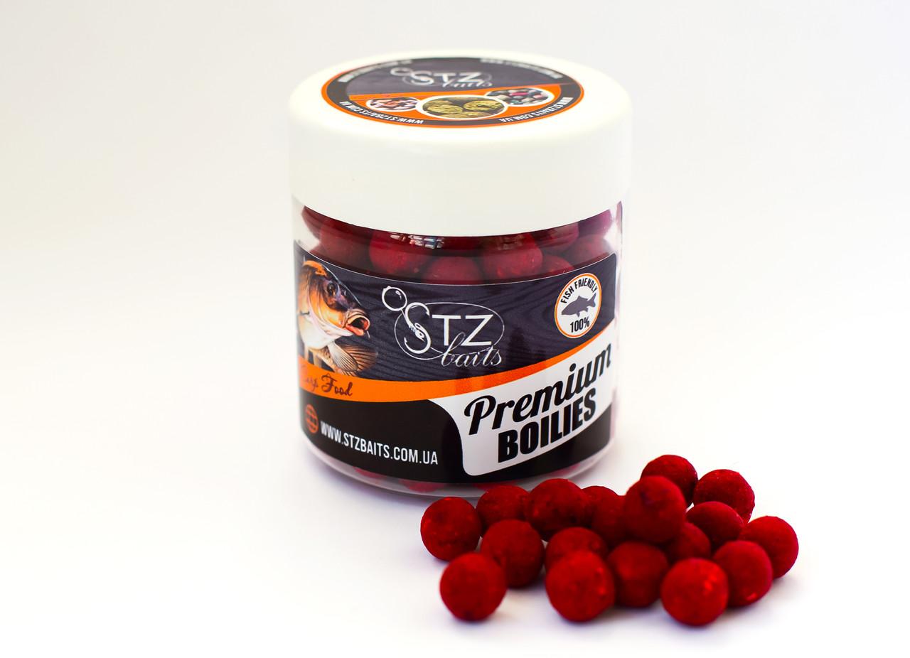"""Бойл насадочный """"Strawberry species""""(Клубника специи)  10 мм 100гр STZbaits"""