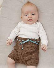 Опис в'язання дитячих штанців «Shorts and Sweet»