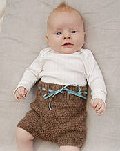 Описание вязания детских штанишек «Shorts and Sweet»