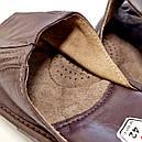 """Домашние кожаные мужские тапочки """"Wójciak"""" 43, фото 3"""