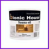 Sauna Oil. Олія для обробки саун, олія для саун, антисептик для дерева, парафінове масло, 0.8 л
