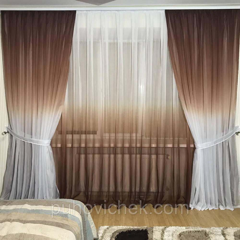 Готовые шторы в комплекте для гостиной интернет магазин