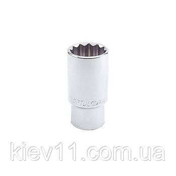 "Головка 12-гранная длинная TOPTUL 1/2"" 12 мм BAEF1612"