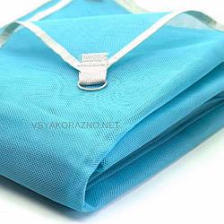 Пляжное полотенце анти песок (голубое) / Пляжний рушник анти пісок (блакитний) 150х200 см.