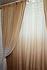 Готовые шторы в комплекте для гостиной интернет магазин, фото 2