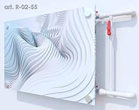 Стеклянный экран на радиатор