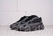 Женские кроссовки adidas Yeezy 700 V2 Utility Black в стиле Адидас Изи Буст 700 черные, фото 2