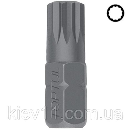 Бита Сплайн TOPTUL 10мм L-30мм Spline M8 FSFA1208