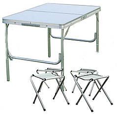 Стол раскладной для пикника Picnic Table + 4 стула