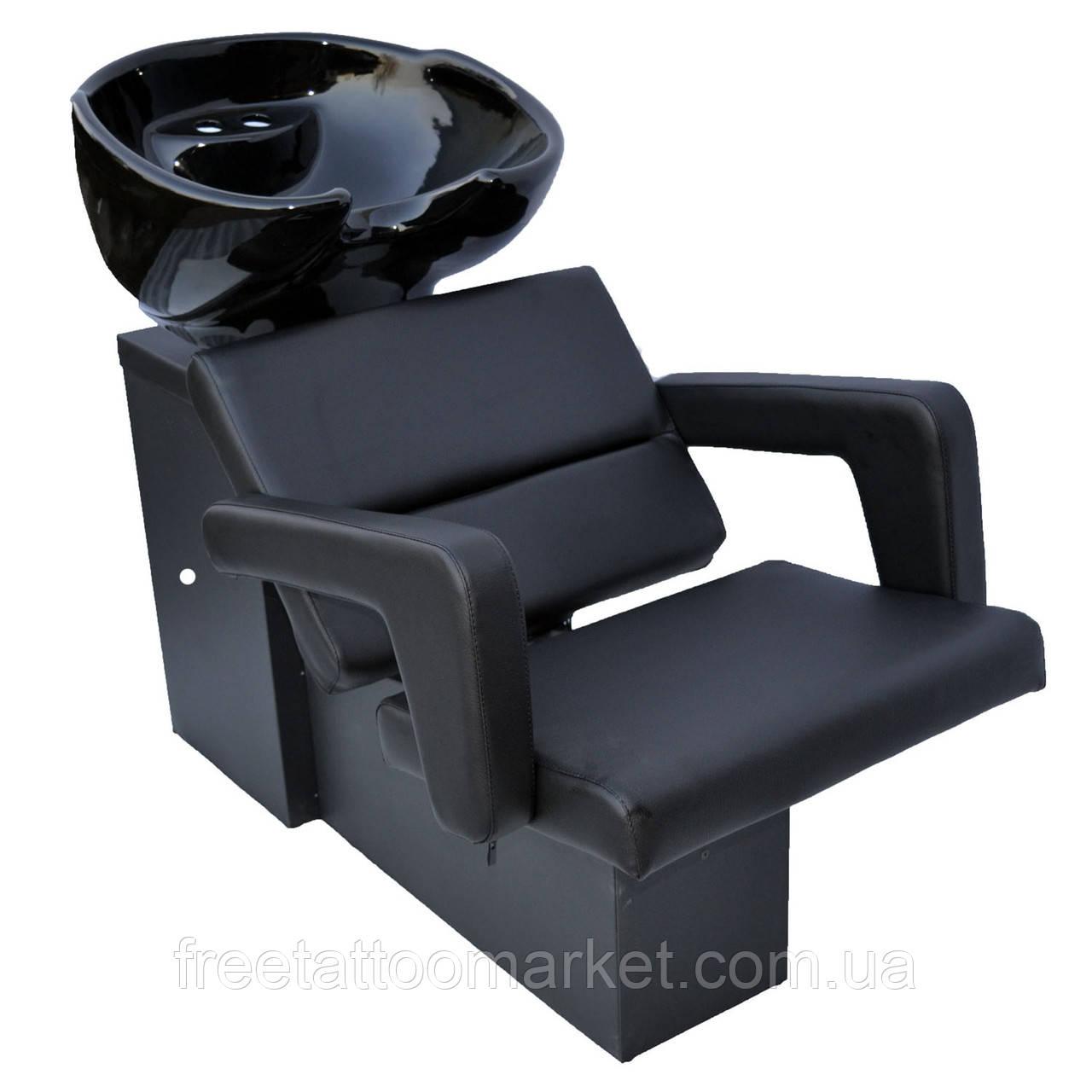"Парикмахерская мойка Cheap c креслом Flamingo (Чип/Фламинго) Керамика Космо Италия (""сантехника стандарт"")"