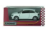 Машина. Автомодель металлическая 1:32 Audi A1 KT5350W Kinsmart, фото 2