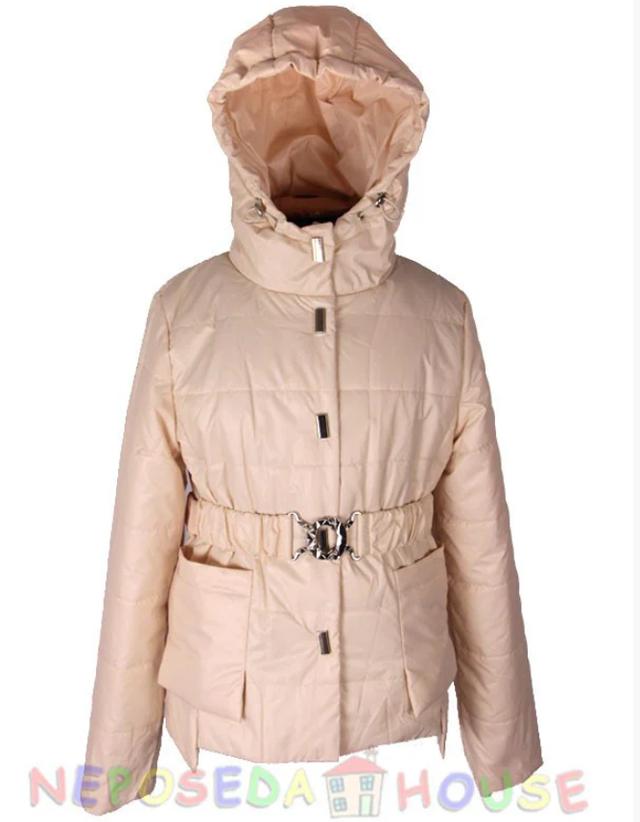Стильная куртка-парка демисезонная  для девочки подростка 140-164 рост