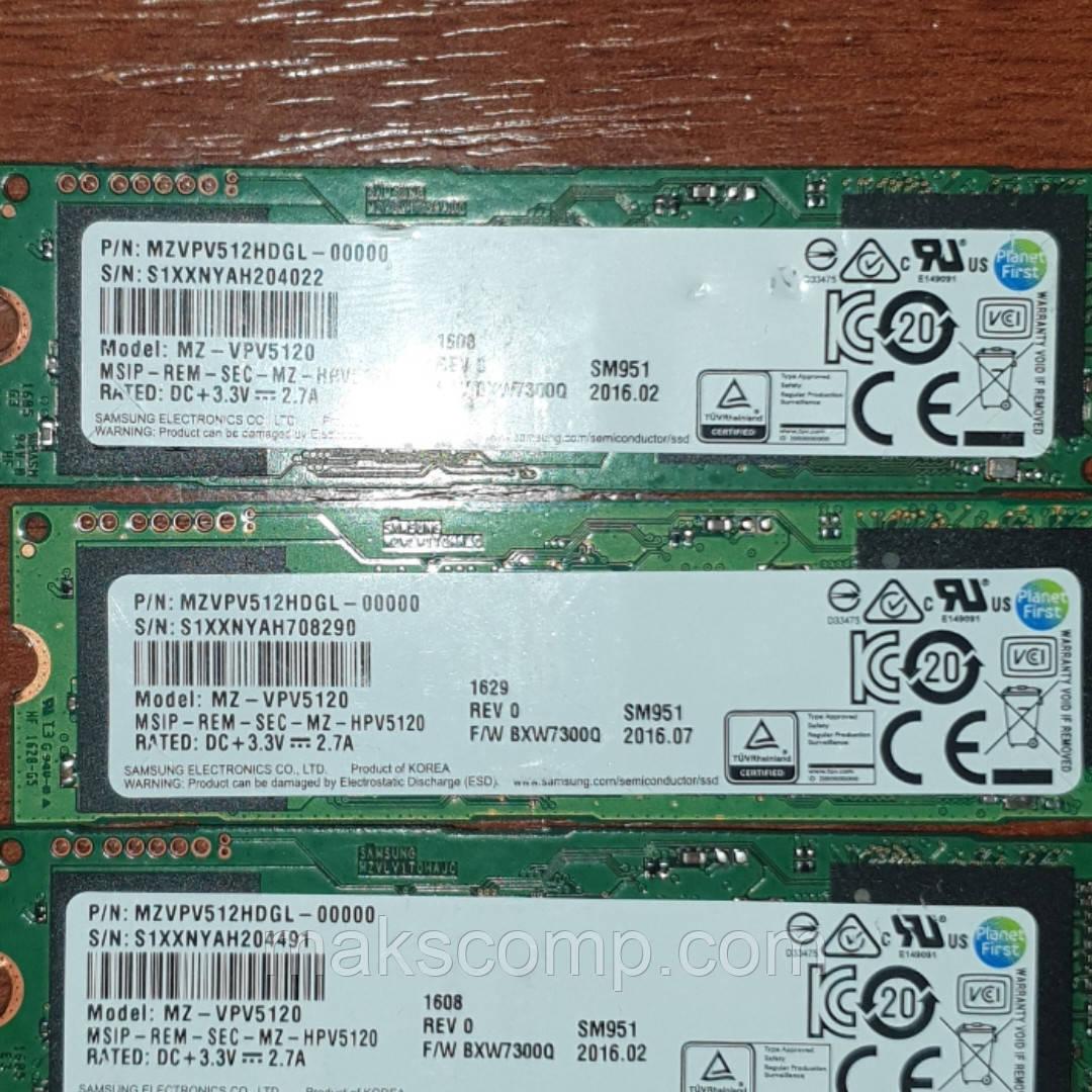 SSD Samsung SM951 512Gb m.2 NVMe (MZVPV522HDGL)(б/у)