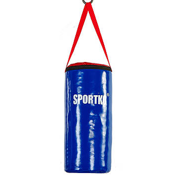 Мішок боксерський Циліндр ПВХ SPORTKO (древ.тирса, h-40см, d-19см, вага-3кг)
