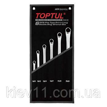 Набор накидных ключей супердлинных TOPTUL 6ед. GPAP0602