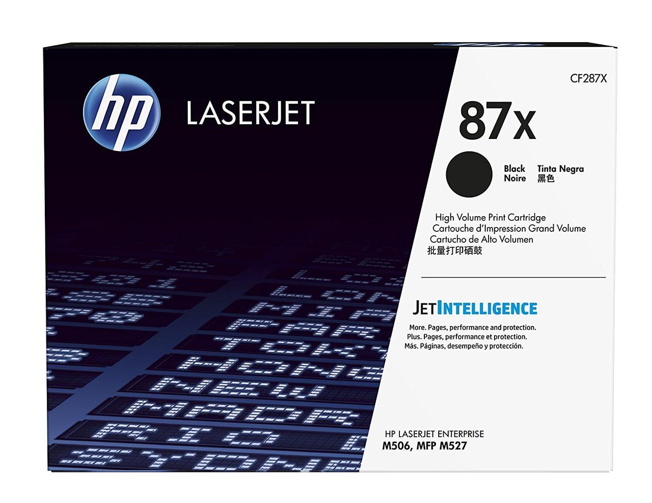 Тонер-картридж HP 87X LJ M506/M527 Black 18000 страниц