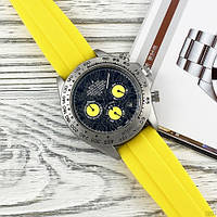 Rolex 350501Pattern Black -Yellow Rubber
