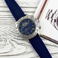 Rolex 350501Pattern Black-Blue Rubber